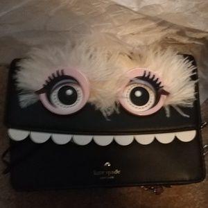 Kate Spade.. Monster Evening Chain Purse Bag New
